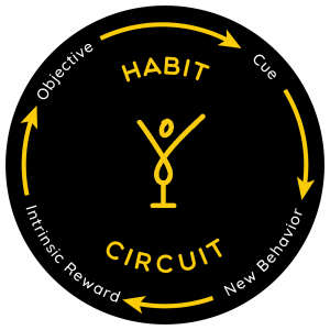 Habit Circuit and breaking bad habits to lead to a happier life